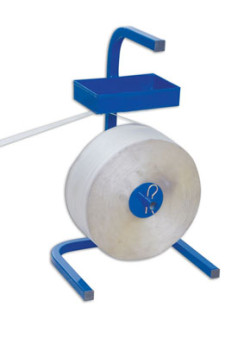 Abrollwagen für Textilband